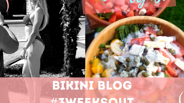 Bikini Blog #3weeksout – 3 vreemde prepgewoontes & de generale repetitie!