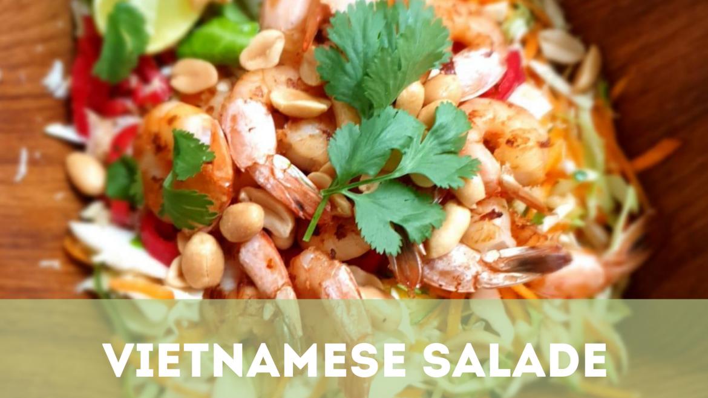Vietnamese salade – heerlijk fris, smaakvol en licht